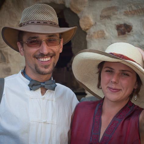 S manželkou Jitkou